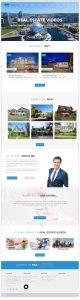Webstránka realitnej agentúry vytvorená firmou IdeaMarketing.sk