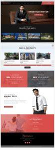 Webstránka Manny Deol vytvorená firmou IdeaMarketing.sk